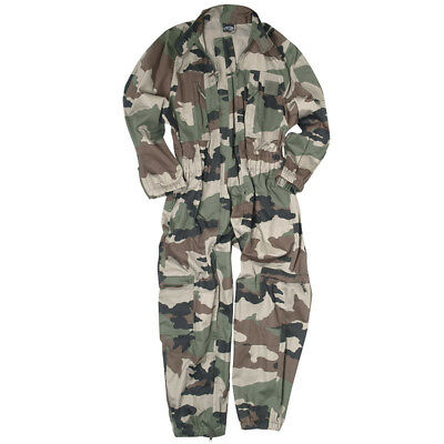 French Army Overall Tactical Combat Coverall Mens Work Wear Suit Cce Camo S-3Xl