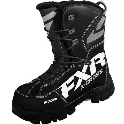 FXR Men's X Cross Boots Fur Lining High Traction Outsole - Black - 16508.100__