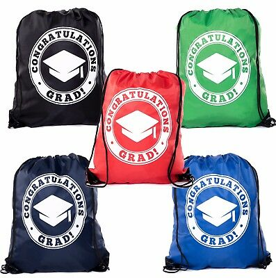 Graduation Gift Bags for Graduation Party Favors| Drawstring Bags by Mato & Hash