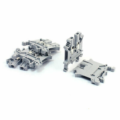 5Pcs TUK 3N 800V 32A 2.5/4mm2 Screw Clamp Clipping Terminal Block Connector Gray