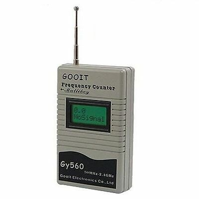 GOOIT GY560 50Mhz To 2.4Ghz PROTABLE FREQUENCY COUNTER Meter Tester