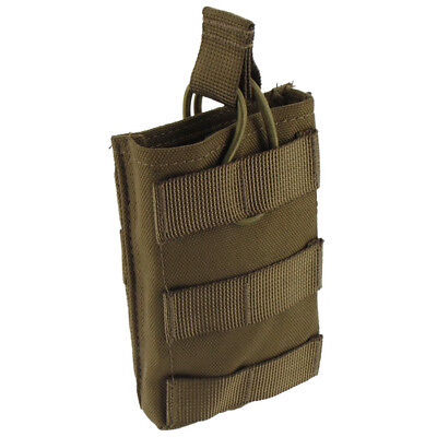 Pro-Force Single M4/M16 Mag Ammo Pouch Molle System Mil-Sim Pocket Coyote Tan