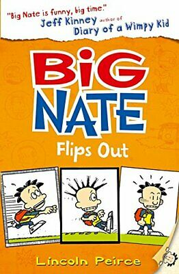 Big Nate Flips Out (Big Nate, Book 5) by Peirce, Lincoln Book