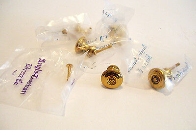 5 Reproduction Brass Drawer Knobs ! Inch Cabinet Cupboard