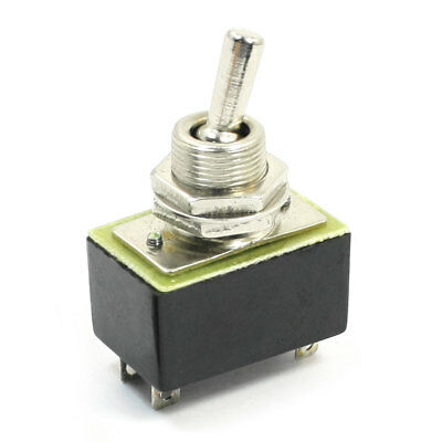 ON-OFF DPST 4 Pin Terminal Rocker Type Toggle Switch AC 110V 6A KN3A 1X2
