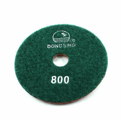 Double Sided Marble Buffing Wet Dry Diamond Polishing Pad Green 800 Grit