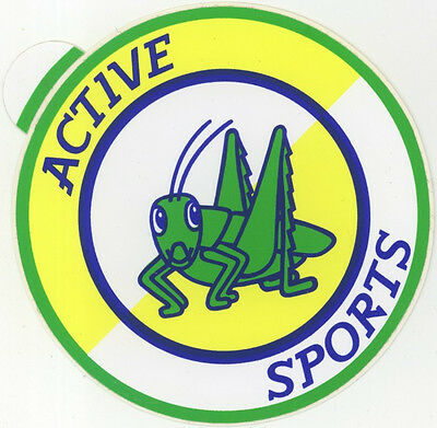 Sticker: Active Sports