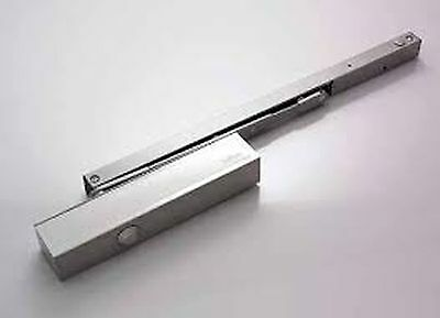 Briton 5003-Se Size 3 Std Overhead Door Closer Sil Anodised Body  Rrp £140