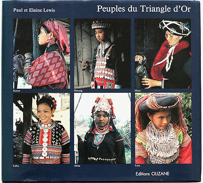Scarce 1980s ethnographic book People of the Golden Triangle