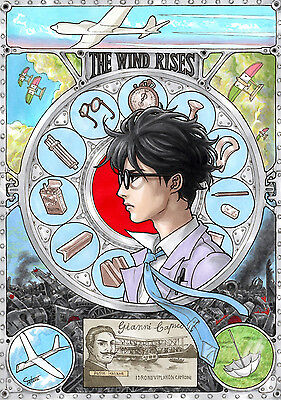A3 Studio Ghibli The Wind Rises Art Poster Print SGWR02 BUY 2 GET 3RD FREE