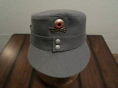 German Military Army Mountain Troops M-43 Hat W/ Edelweiss Sizes 60 62 63 Avail