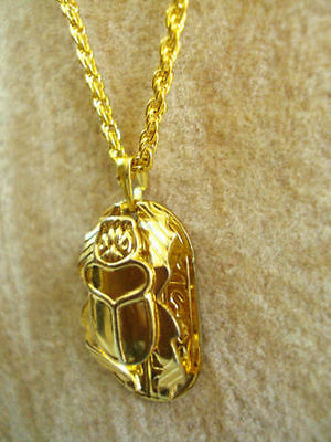 Scarab Beetle Hand Carved Necklace Pendanat Egyptian Jewelry High Quality Charm