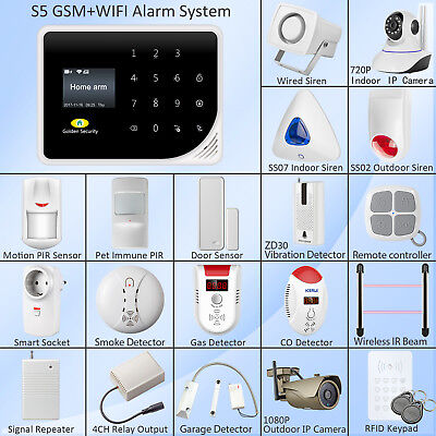 Wireless Alarm Sensors Accessories For G90B WiFi GSM Home Alarm System Security