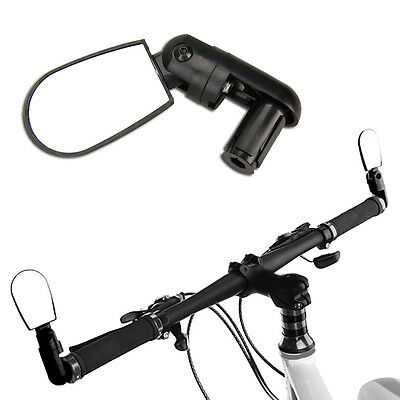 Bicycle Bike Handlebar Adjustable Rear View Mirror Outdoors Driving Road Vision