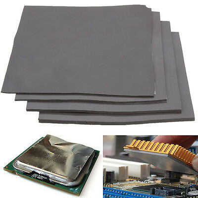 100mm x 100mm Square Thermal Heatsink Transfer Double Sided Adhesive Cooling Pad