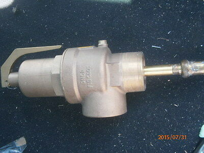"Nabic Fig 500T DN50 2.5"" 2 1/2""  Combined Pressure & Temperature Relief Valve"