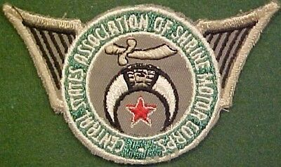 Central States Assn of Shrine Motor Corps Patch