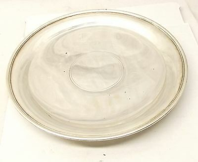 """Antique Tiffany & Co Makers Sterling Silver Serving Tray Charger 22612 10.75"""""""