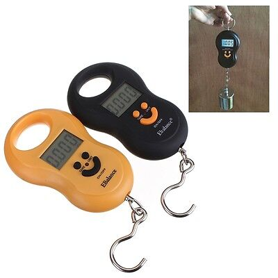 MINI Portable LCD Electronic Digital Hook Hanging Luggage Scale Weight 50kg / 5G
