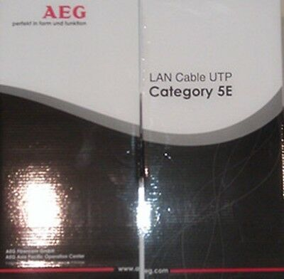 GermanAEG CAT 5E 305M UTP 1000 feet roll Ethernet LAN Network Cable! 1000MB