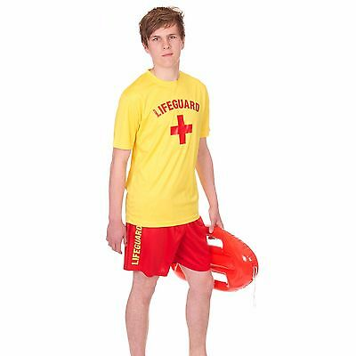 Mens 'lifeguard +' Cooltex T-Shirt, Shorts + Float Set