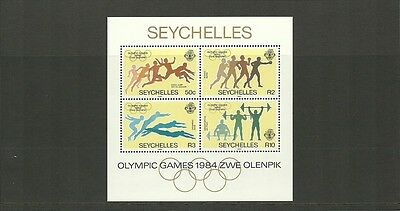 Seychelles-Sgms596-Olympic Games Los Angeles-Mnh