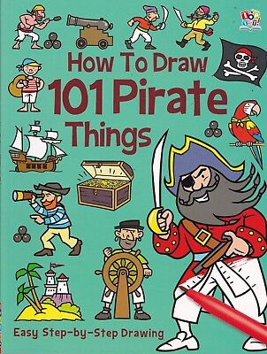 How To Draw - 101 Pirate Things, Book, New
