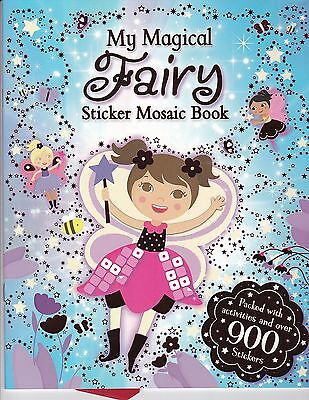 Fairy sticker Book (My Magical Fairy Sticker Mosaic Book) - over 900 Stickers!