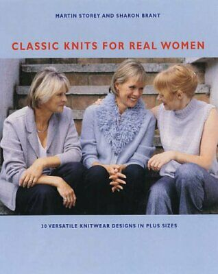Classic Knits for Real Women by Brant, Sharon Paperback Book The Cheap Fast Free