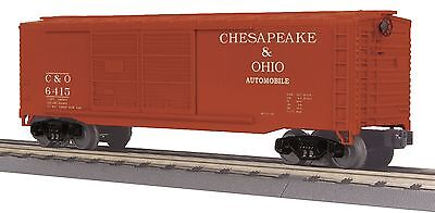 MTH 30-74806, O Gauge, 40' Double Door Box Car - Chesapeake & Ohio - C&O