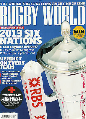 RUGBY WORLD MAGAZINE March 2013