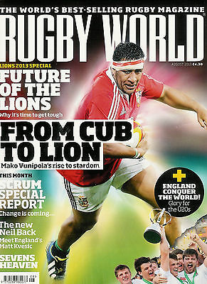 RUGBY WORLD MAGAZINE August 2013