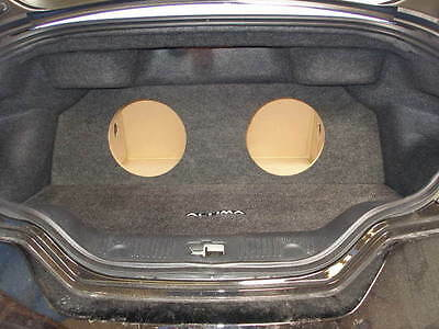 "ZEnclosures 2-10"" Subwoofer Box for the 2008 & Up Nissan Altima COUPE"