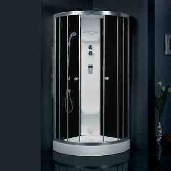 1 Person Steam shower with glass walls