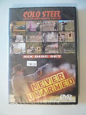 Cold Steel Knives Never Unarmed 6 Disc DVD Set Features Lynn Thompson