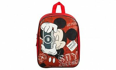 Disney Minnie Mouse 'Say Cheese' Junior School Bag Rucksack Backpack New Gift
