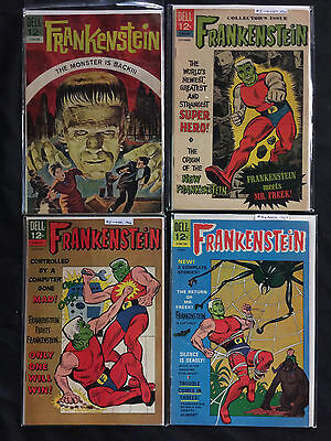 Frankenstein Lot of 27 - Dell Classics & Marvel others Included (2.0-9.2)