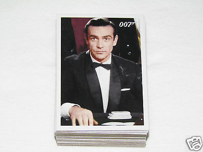 2009 JAMES BOND ARCHIVES Trading Card Set #1-66 Movies Cards 007 Rittenhouse