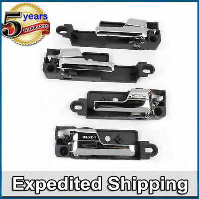 interrior inside door handle Chrome 4 PCS SET DS369 For Ford Fusion Milan MKZ