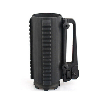 Tactical Military Multifunction Aluminum Detachable Carry Battle Mug Cup w/ Rail