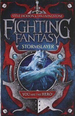 Stormslayer (Fighting Fantasy) by Livingstone, Ian Paperback Book The Cheap Fast