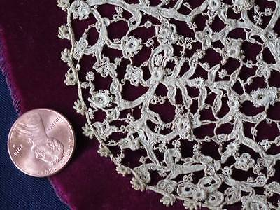 Museum Quality Point de Neige Venetian Handmade Needlelace Collar 17- 18th C