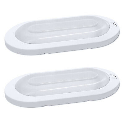 Facon 12v Led Rv Pancake Ceiling Dome Interior Lights For Camper Trailer Caravan 12 98 Picclick