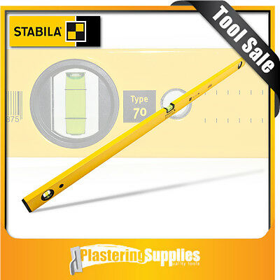 Stabila 200cm Spirit Level 3 Vial Box Level 70/200 Made in Germany