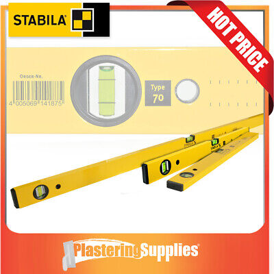 Stabila Spirit Level  3 Piece 120cm 60cm & 30cm Box Level Pack Type 70/120/60/30