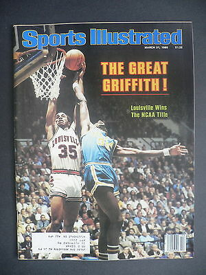 Sports Illustrated March 31, 1980 Griffith Louisville NCAA Don Bragg TPC Mar '80