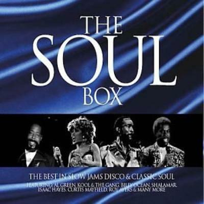Various Artists : The Soul Box: the Best in Mellow Grooves CD