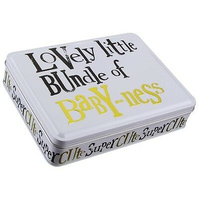Bright Side ~ Storage Tin ~ BUNDLE OF BABY-NESS ~ Baby Gift Set ~ 0-6 Months