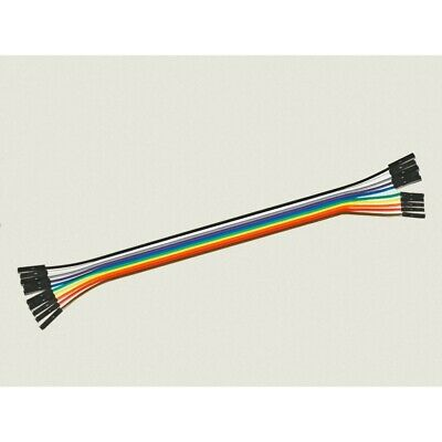 Cable Hembra Hembra 10 x 1 pin 20cm Female - Female Jumper Cables for Arduino