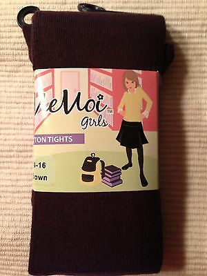 Girls brown tights by MeMoi - choose your size!!!